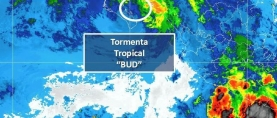 "Tormenta tropical ""BUD"""