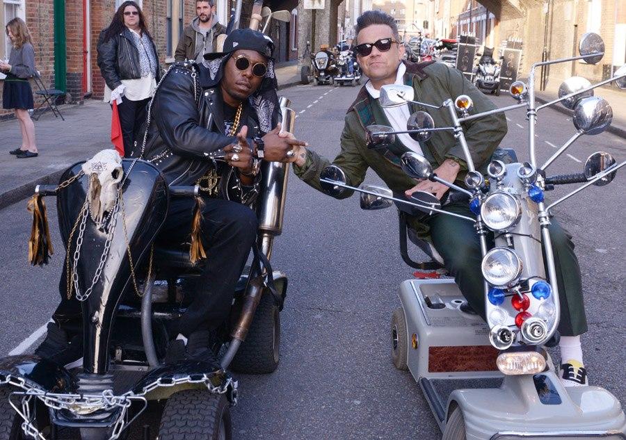 Video Colaboran Juntos Dizzee Rascal Y Robbie Williams